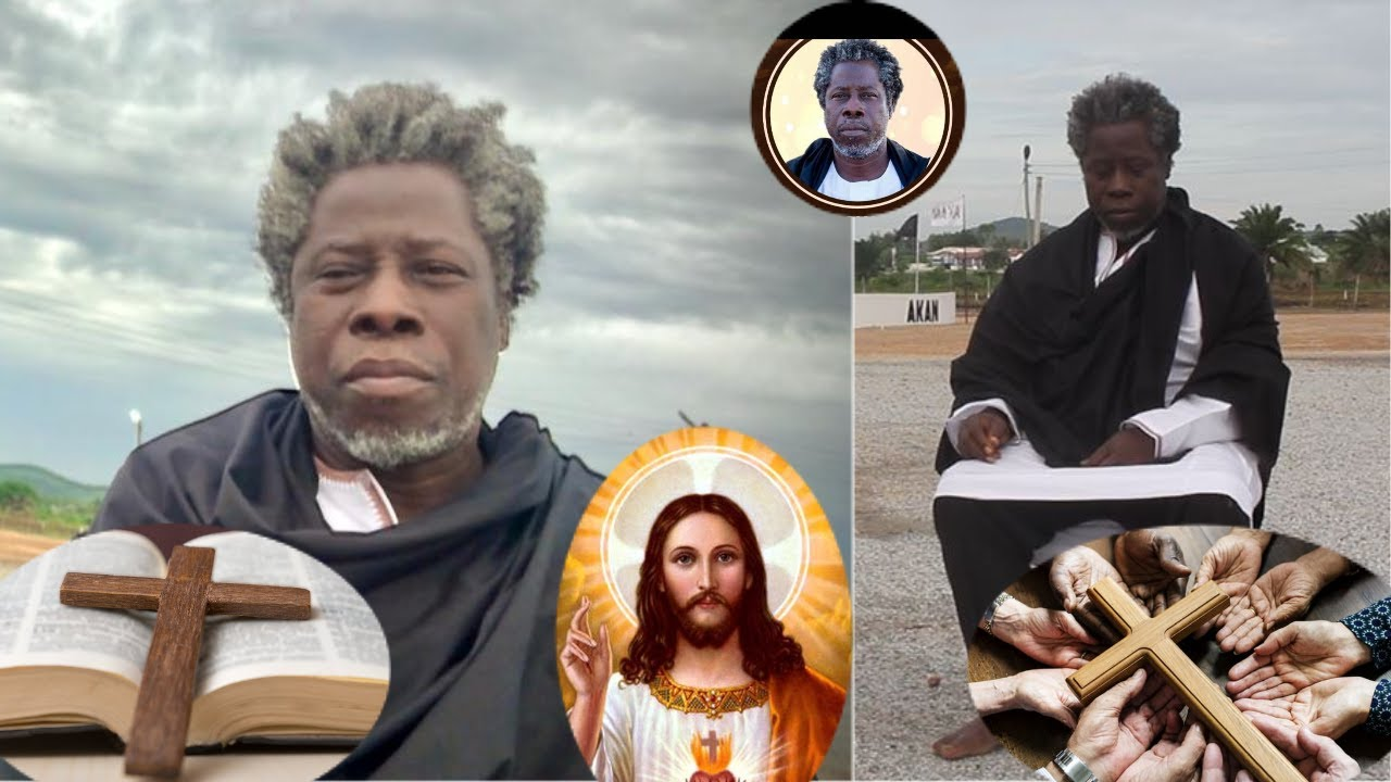 Meet the man whose temple teaches Bible & Quran and serves as a Spiritual godfather for Ghanaian Politicians - Broadcastghana