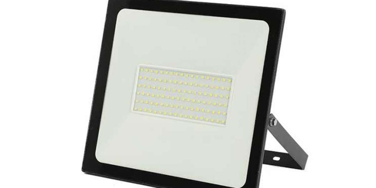 Design Concept Of 100w Outdoor Ultra-thin Led Floodlight