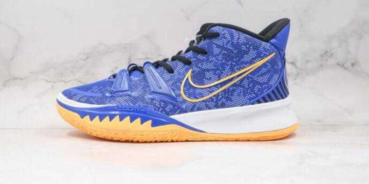 New Nike Kyrie 7 PRE HEAT EP Blue Oragne is Available Now