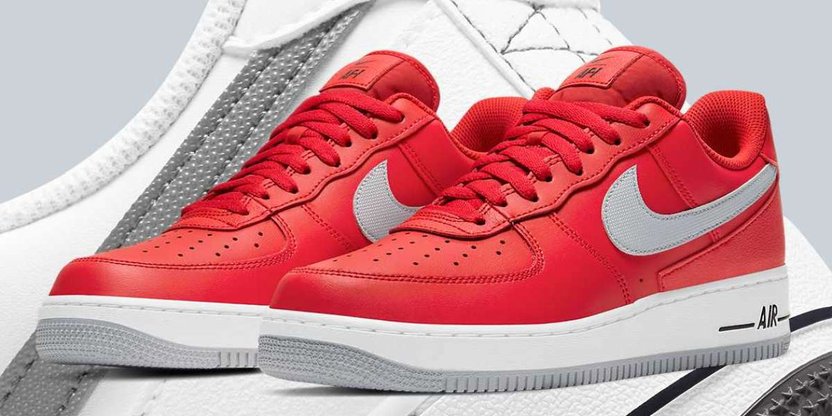 Latest Release Nike Air Force 1 Low DD7113-600 Red Grey