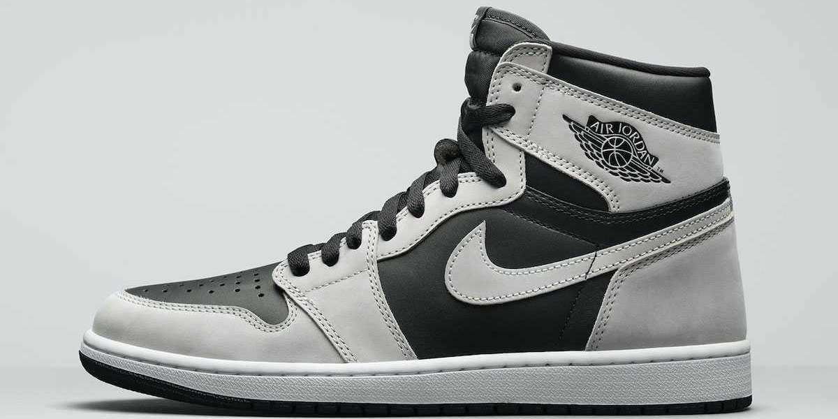 "Worthy Air Jordan 1 High OG ""Shadow 2.0"" Basketball Shoes 555088-035"