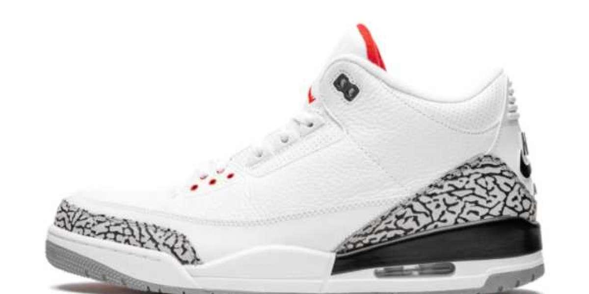 Air Jordan 3 Retro White Cement 136064-105 2011 For Sale Online