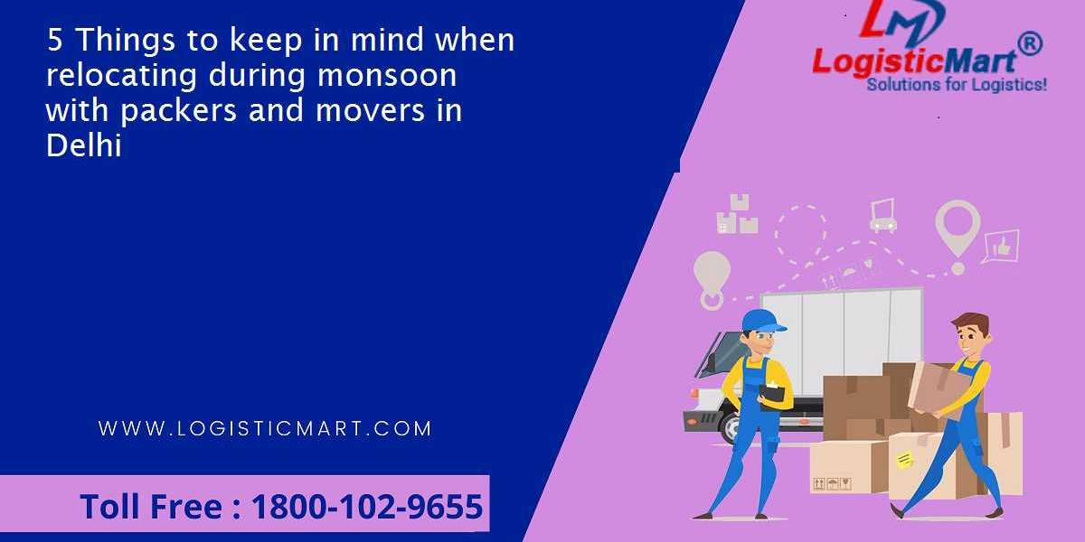 5 Things to keep in mind when relocating during monsoon with packers and movers in Delhi