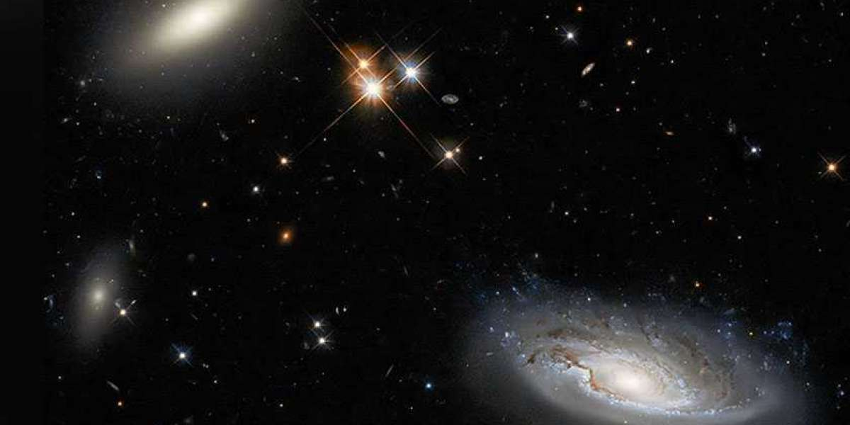 Hubble Space Telescope looks at twin galaxies