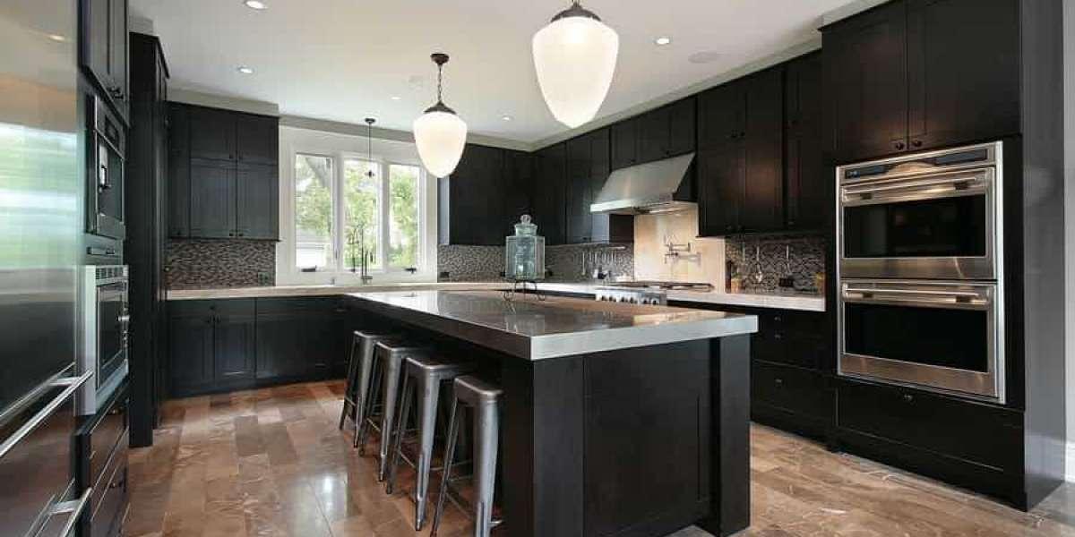 Black kitchen cabinets for impressive kitchen looks
